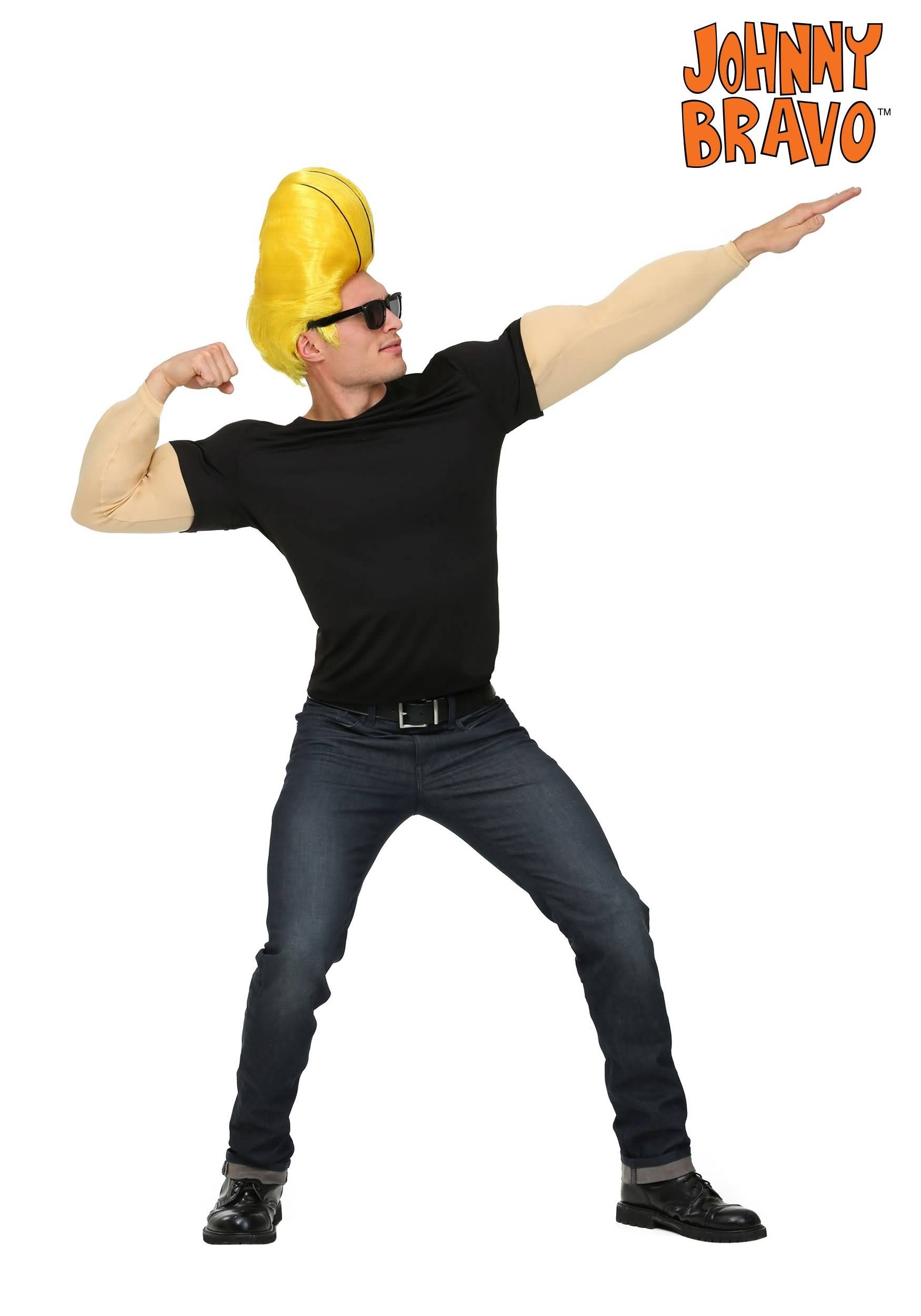Signature Pose Of Johnny Bravo