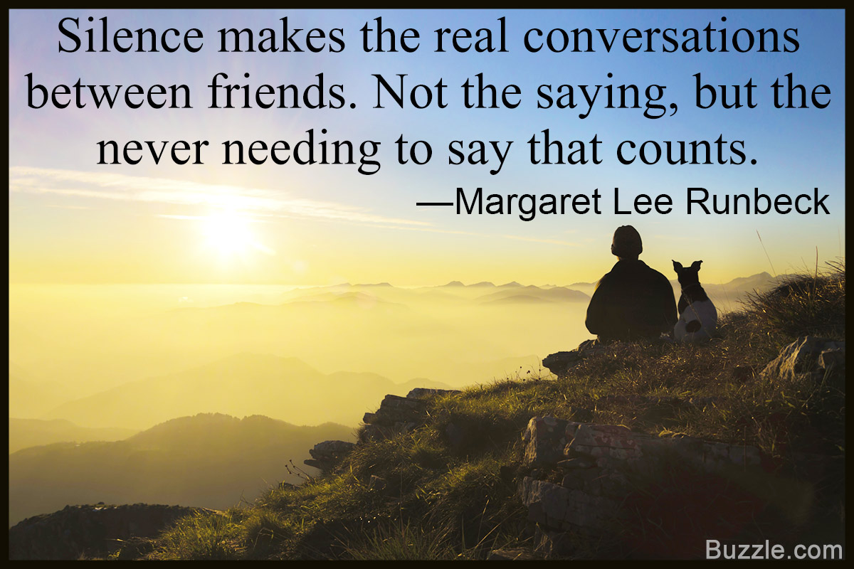 Silence Makes The Real Emotional Quotes