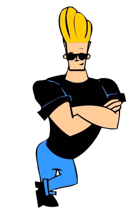 Standing Style of Johnny Bravo