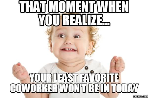 That Moment When You Coworker Birthday Meme