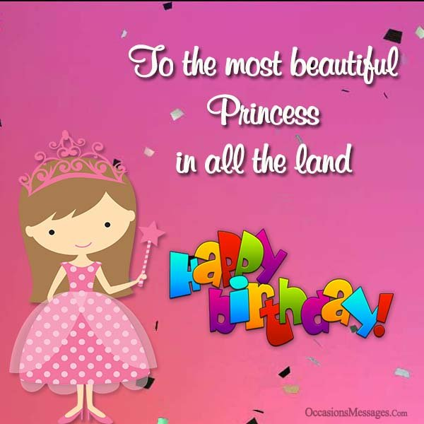 To The Most Beautiful Princess Happy Birthday Niece