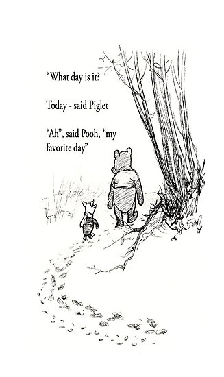 What Day Is It Today Winnie The Pooh Quotes