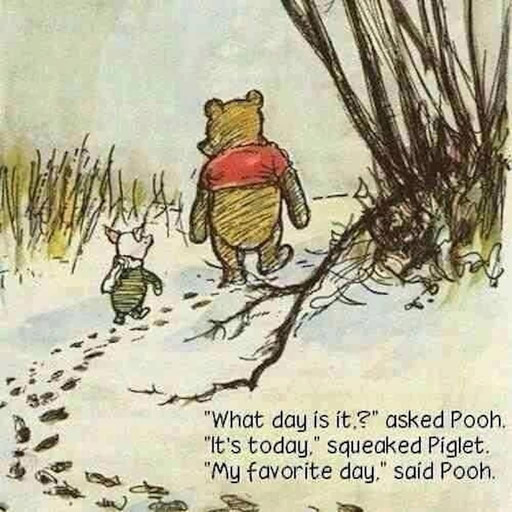 What Day Is It Winnie The Pooh Quotes