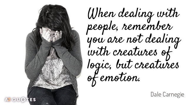 When Dealing With People Emotional Quotes