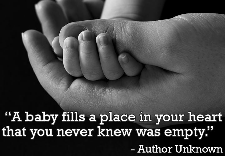 A Baby Fills A Place In Soon To Be Father Quotes