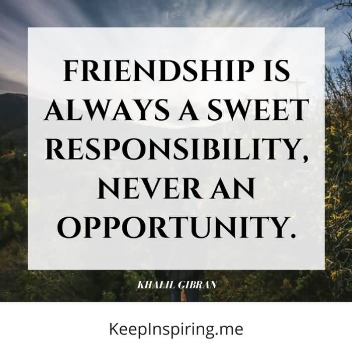 Friendship Is Always A Sweet Male Female Friendship Quotes