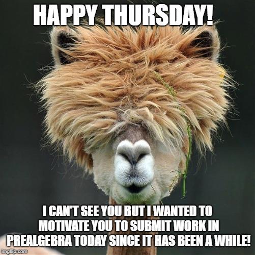 Happy Thursday I Can't See Thursday Meme
