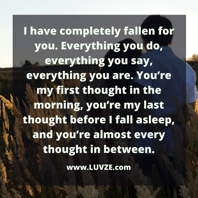 I Have Completely Fallen For You Ur The Best Thing That Ever Happened To Me Quotes