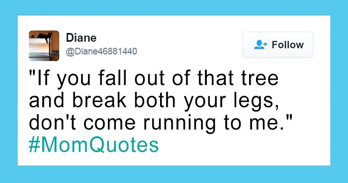 If You Fall Out Of Funny Mom Quotes