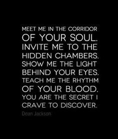 Meet Me In The Corridor Dom Sub Quotes