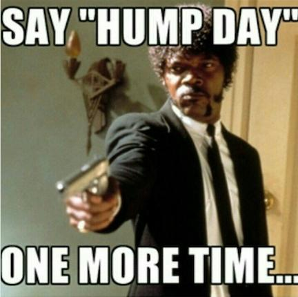 Say Hump Day One More Time Hump Day Meme