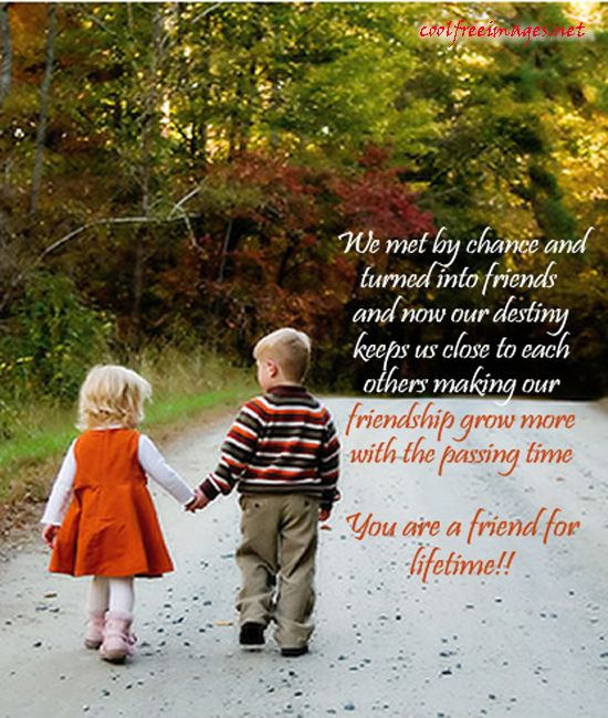 We Met By Chance Male Female Friendship Quotes