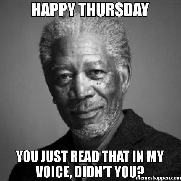 You Just Read That Thursday Meme