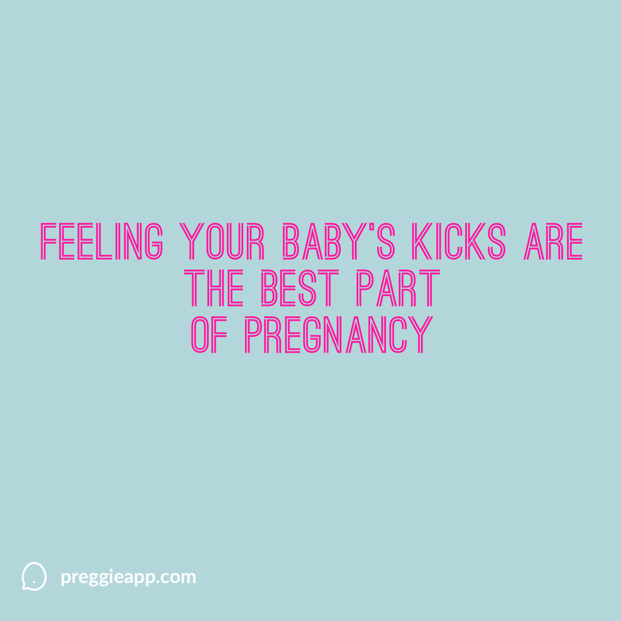 Feeling Your Baby's Kicks Feeling Baby Kick Quotes