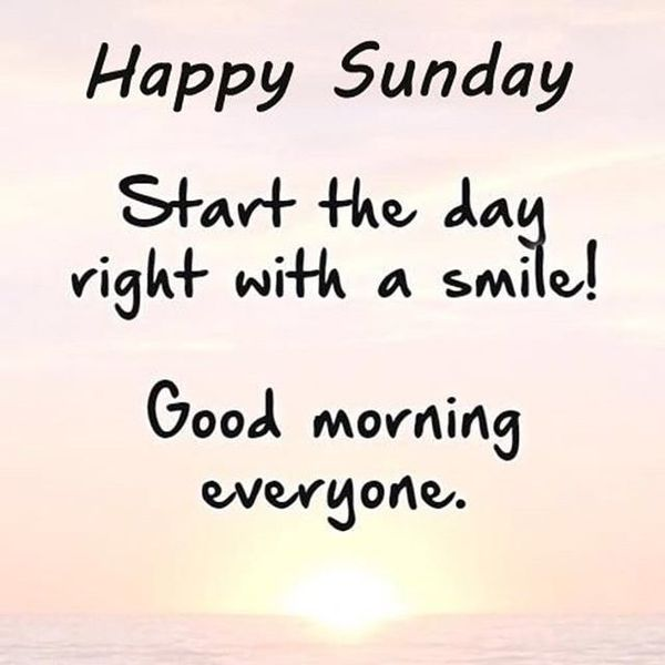 Start The Day Right With Sunday Quotes