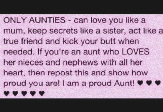 Can Love You Like Proud Aunt Quotes