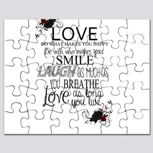 Love You Long Live Love Puzzle Quotes