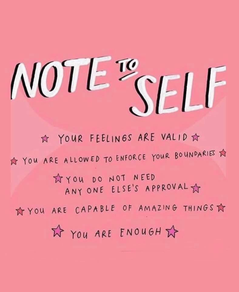 Note To Self Your Monday Quotes