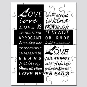 Things Love Never Fails Love Puzzle Quotes