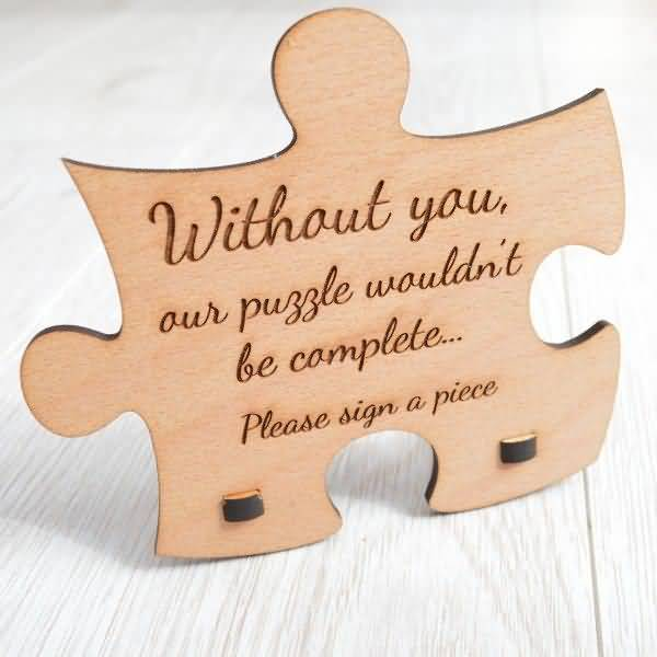 Without You Our Puzzle Love Puzzle Quotes