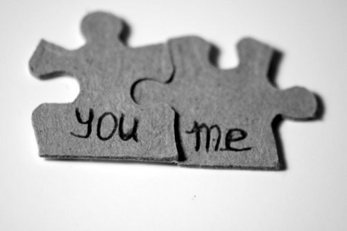 You Me Love Puzzle Quotes