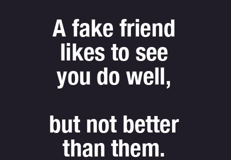 A Fake Friend Likes Fake Friends Quotes