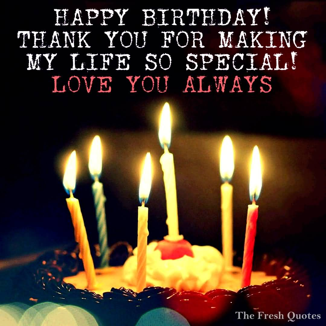 Happy Birthday Thank You