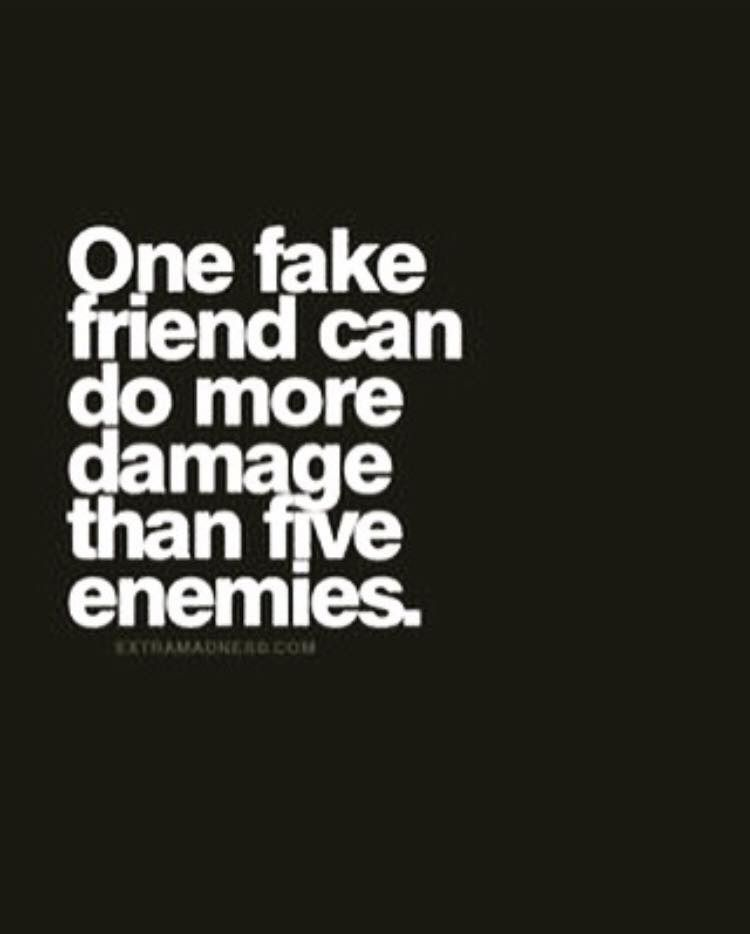 One Fake Friend Can Fake Friends Quotes