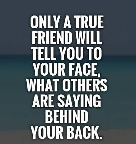 Only A True Friend Fake Friends Quotes