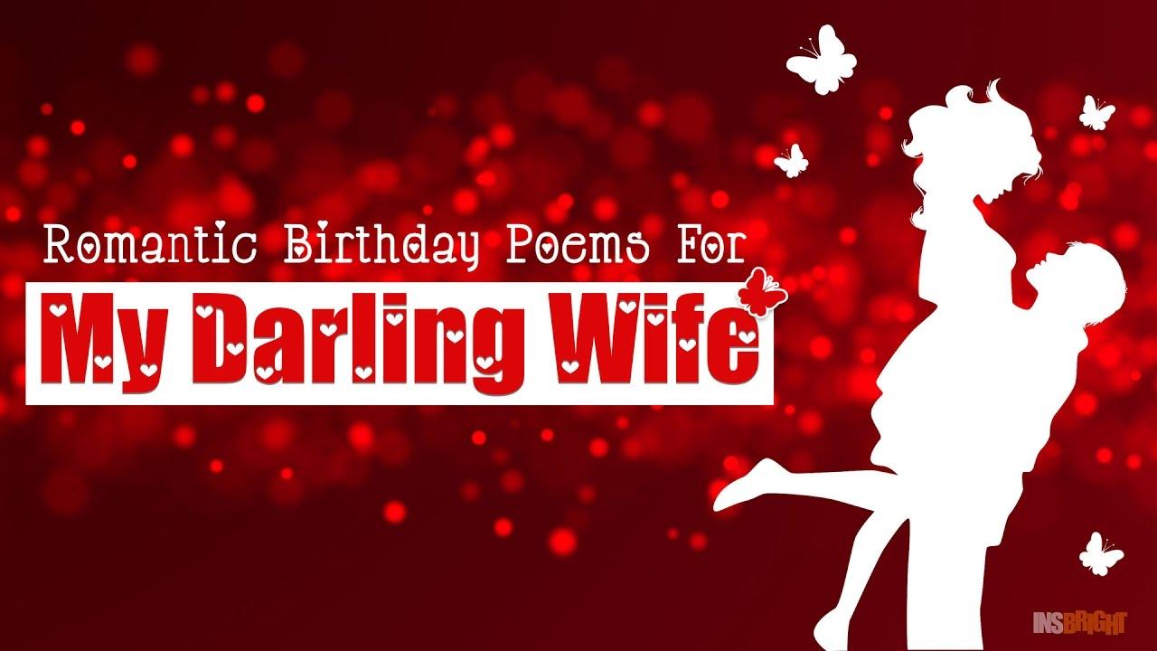 Romantic Birthday Poems For My
