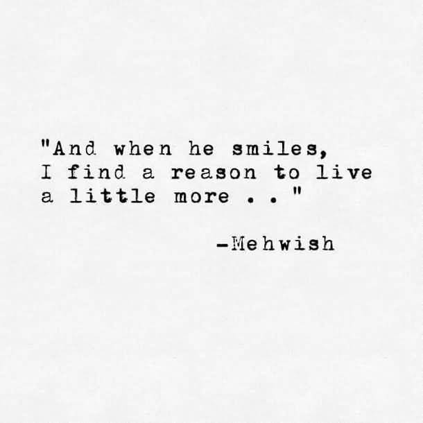 And When He Smiles Famous Love Quotes
