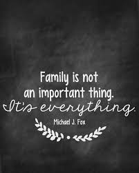 It Is Not An Important Family Quotes