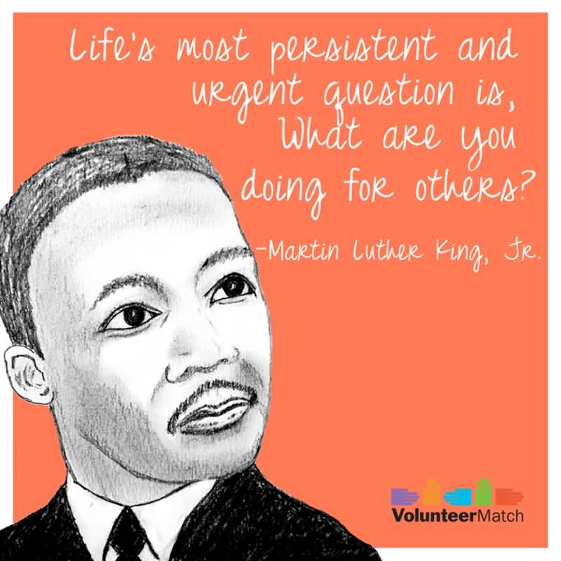 Life's Most Persistent And Urgent Famous Quotes