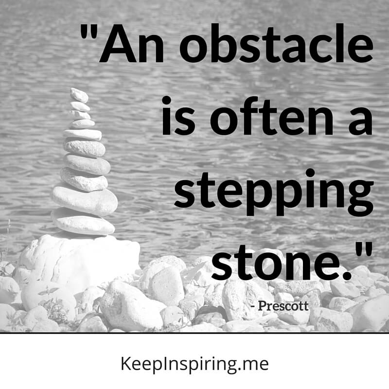 An Obstacle Is Often Famous Quotes About Life