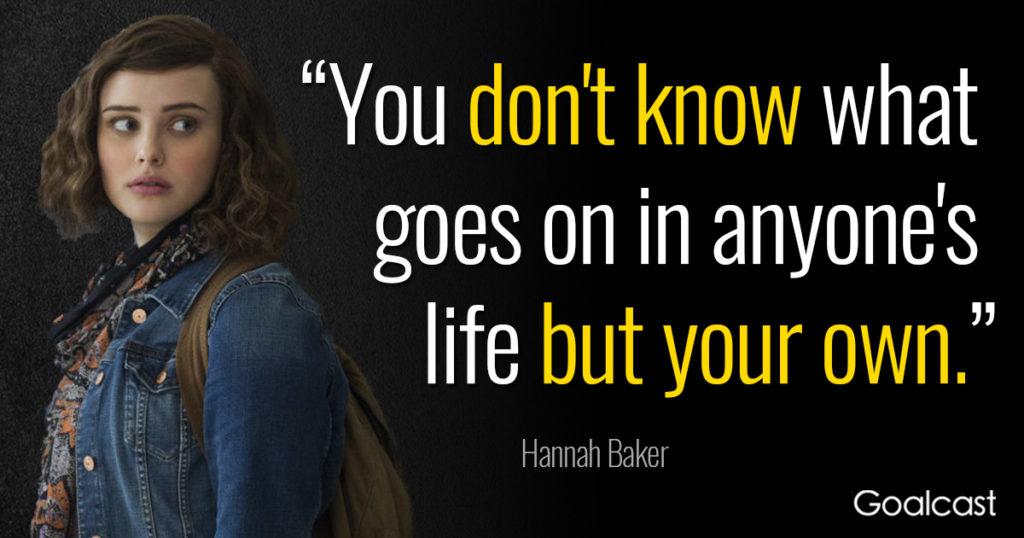 Awesome 13 Reasons Why Quotes