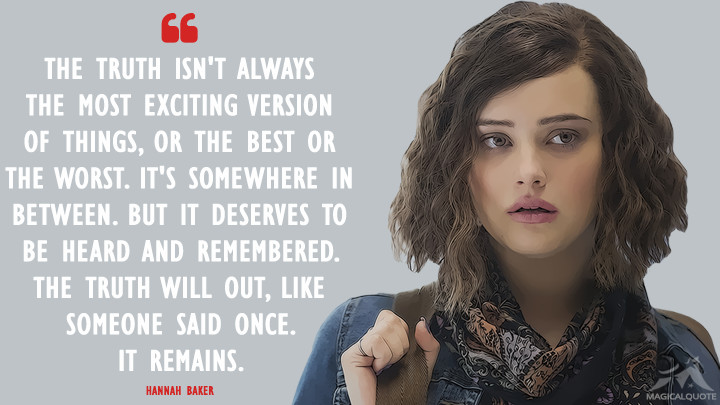 Good 13 Reasons Why Quotes