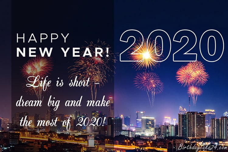Happy New Year 2020 Best Wishes Greeting For All