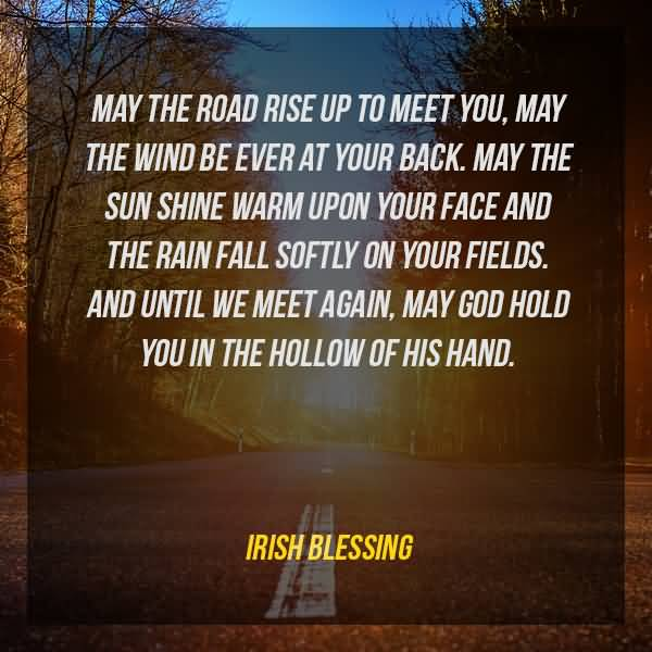 May The Road Rise Farewell Quotes