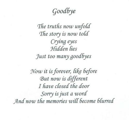 The Truths Now Unfold Farewell Quotes