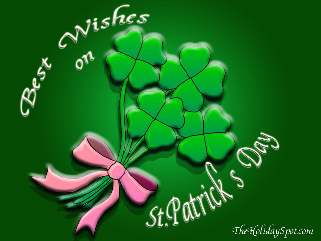 Best Wishes For St. Patrick's Day