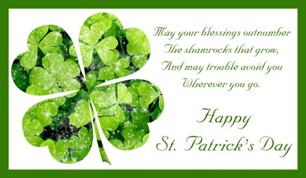 Best greetings for saint patrick's day wishes messages images
