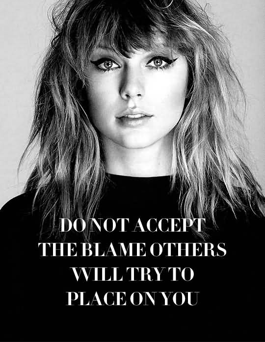 Do Not Accept The Taylor Swift Quotes