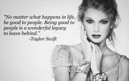 No Matter What Happens In Life Taylor Swift Quotes
