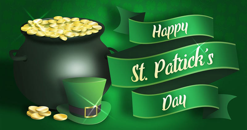 Wish you a happy saint patrick's day quotes image