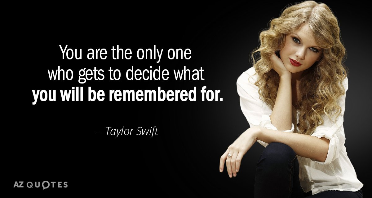 You Are The Only One Taylor Swift Quotes