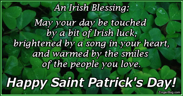 An Itish Blessing May Your
