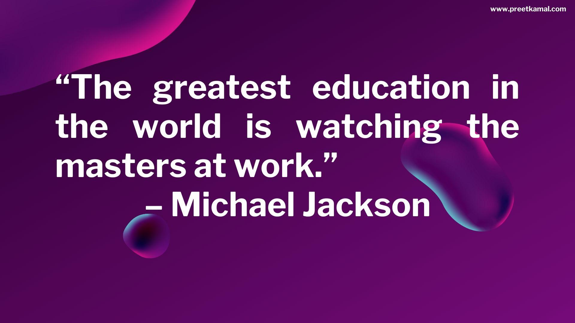 Michael Jackson Quotes (4)