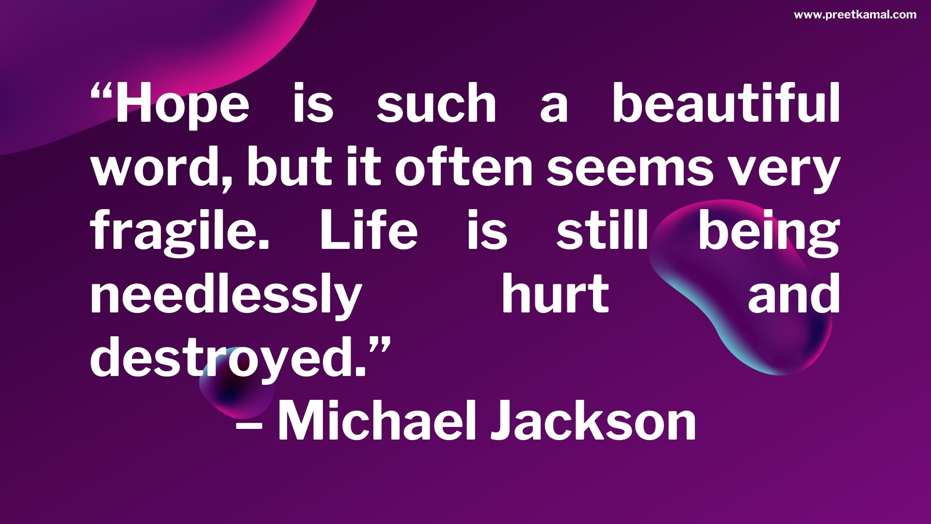 Michael Jackson Quotes (5)