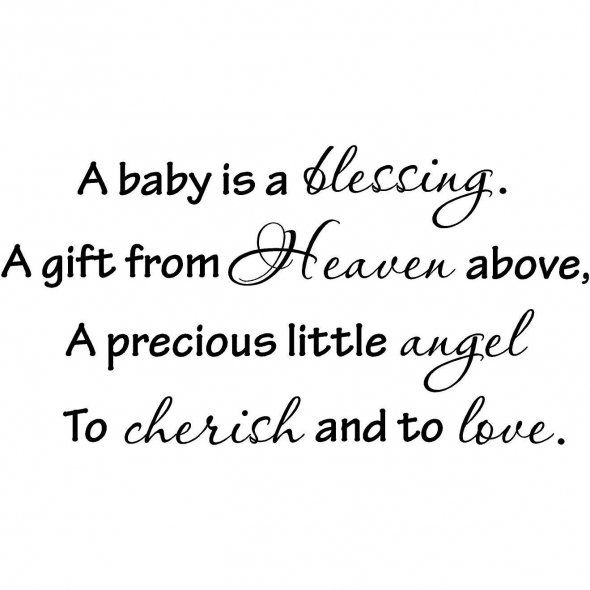 A Baby Is A Blessing unborn baby quotes for daddy