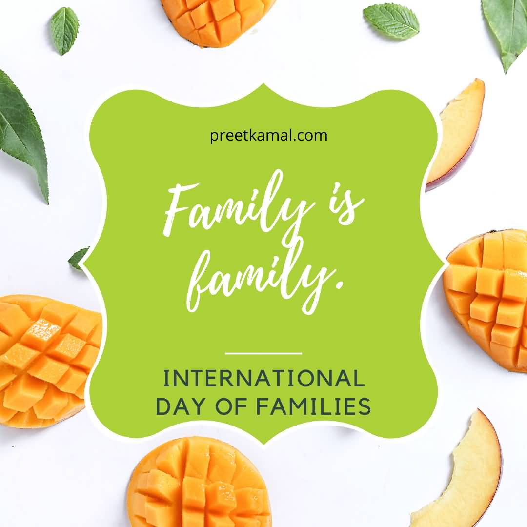 Awesome International Day of Families Wishes